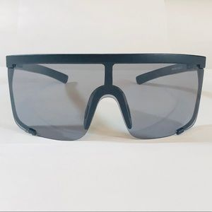 Other - Black Large Shield Sunglasses